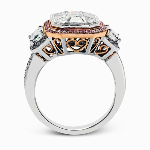 engagement wedding metal n rings diamonds mixed designers
