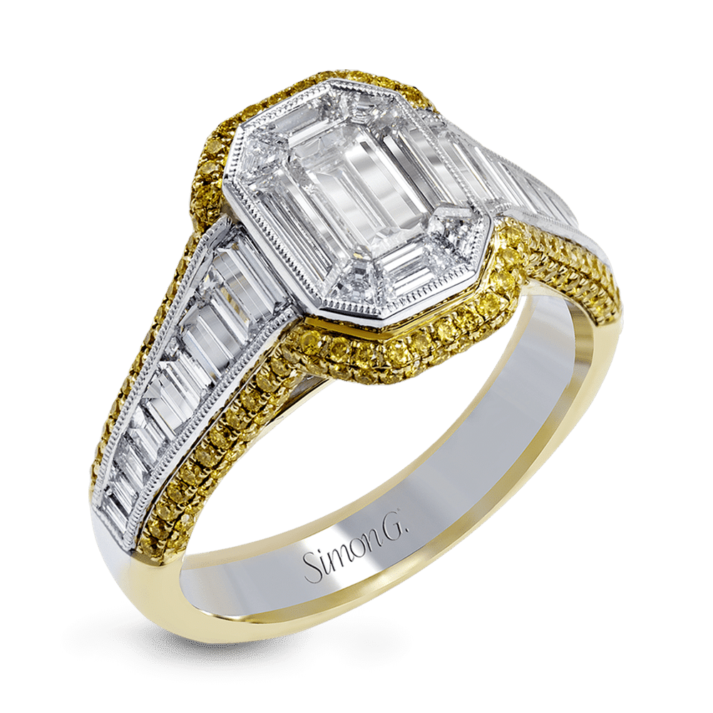 engagement rings gold and mixed metal trends