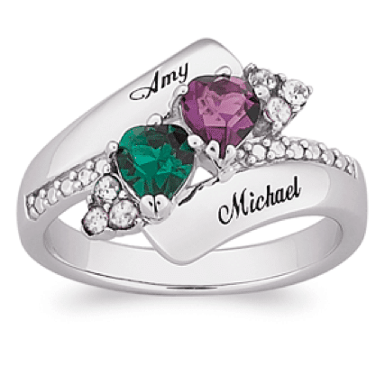 Personalized Ring Mother's Day Jewelry