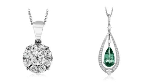 Collier à pendentif diamant |  Gainesville, Floride