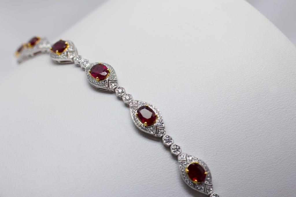 Ruby Bracelet Brittany's Fine Jewelry Gainesville FL