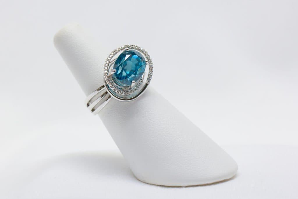 Aquamarine Ring Brittany's Fine Jewelry Gainesville FL