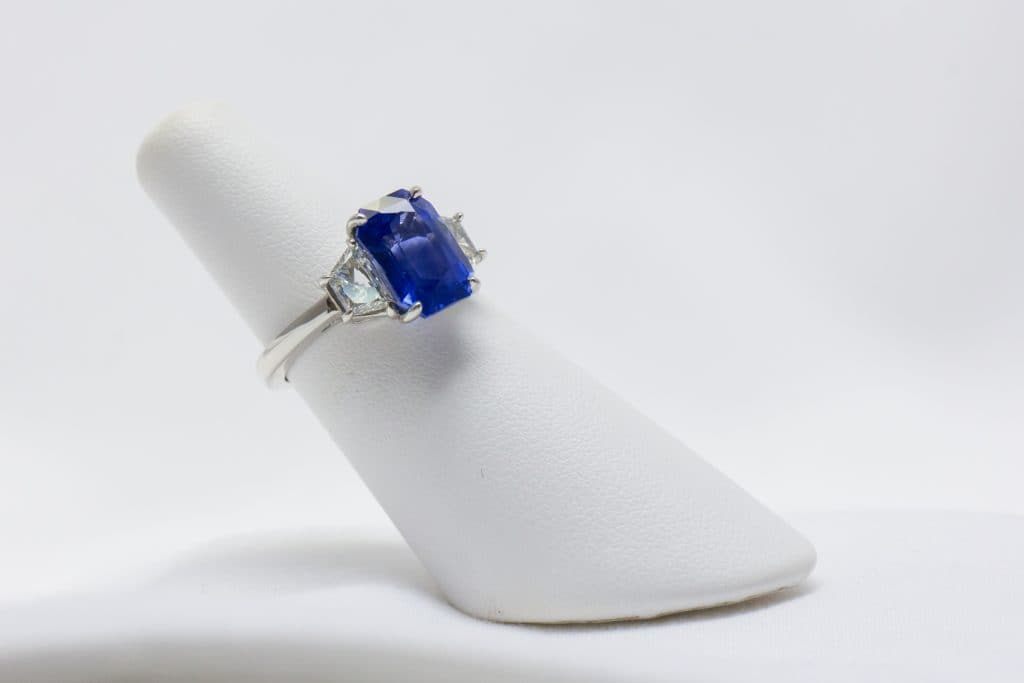 Sapphire Ring Brittany's Fine Jewelry Gainesville FL