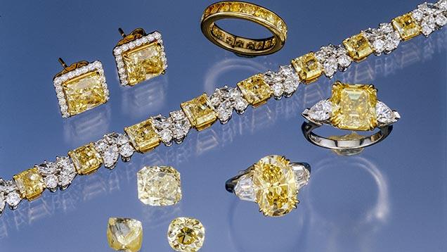 Diamants jaunes