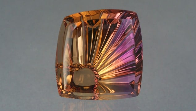 Ametrine SunRay (TM) 35.35 cts cut by John Dyer & Co.