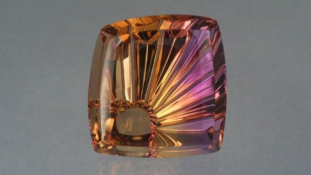 Ametrine SunRay (TM) 35.35 cts cut by John Dyer & Co.