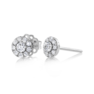 Simon G. Diamond Earrings