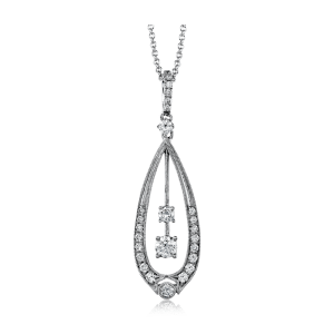 Simon G. Diamond Necklace