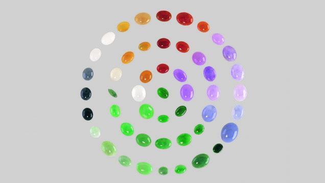 Jade Color Variety