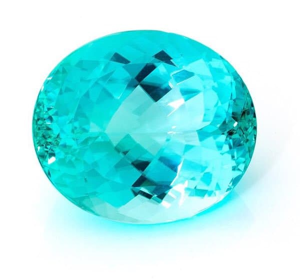 Paraiba Tourmaline large electric oval Brittany's Fine Jewelry Gainesville FL