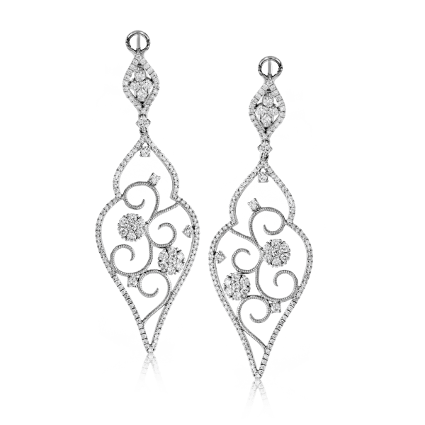 Statement-Earrings-Simon-G.-white-earrings-4-Types-of-Statement-Jewelry-Brittany's-Fine-Jewelry-Gainesville-FL