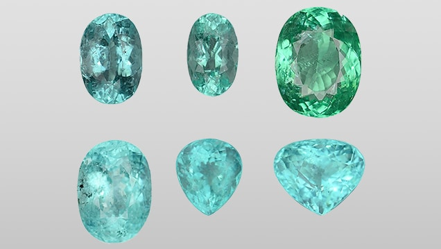 Paraiba Tourmaline electric shades Brittany's Fine Jewelry Gainesville FL