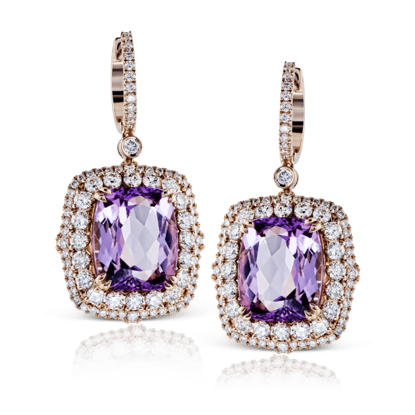 Simon G Amethyst Earrings
