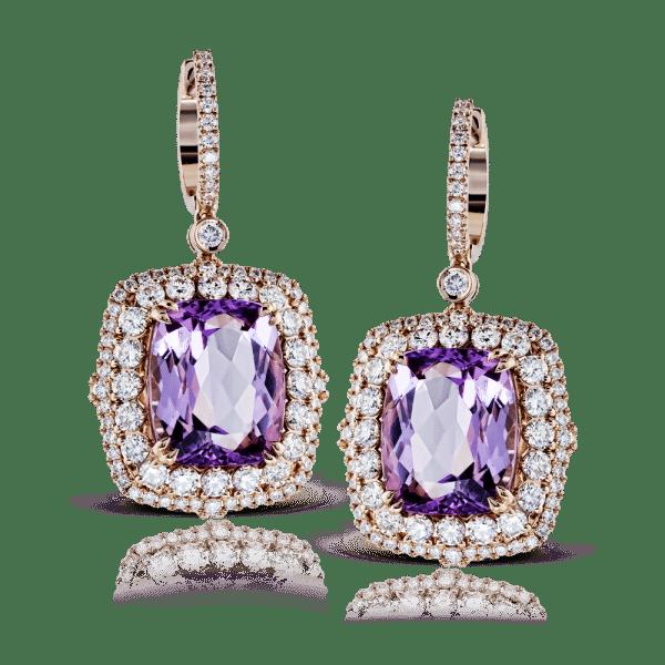 Simon G Amethyst Earrings