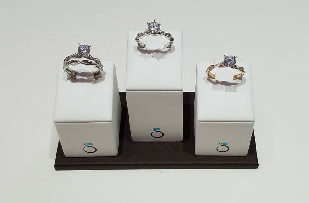 Twisted Band Engagement Rings Sylvie Collection