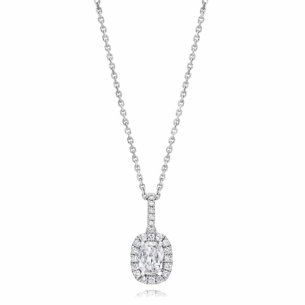 Collier pendentif diamant Simon G.