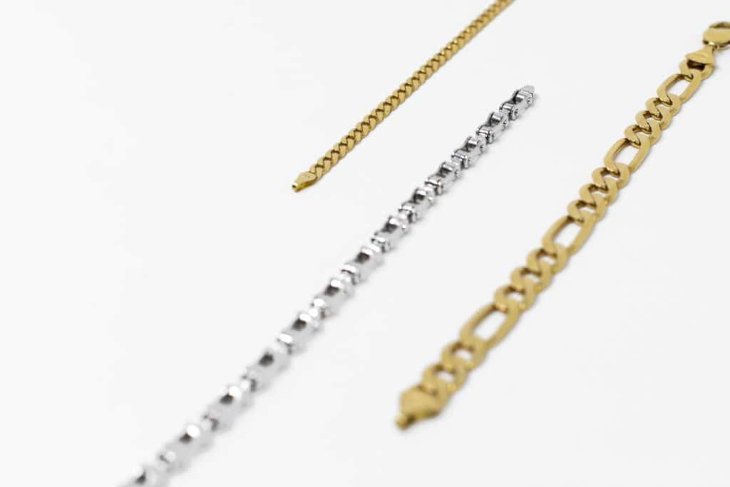 gold silver bracelet chain for men