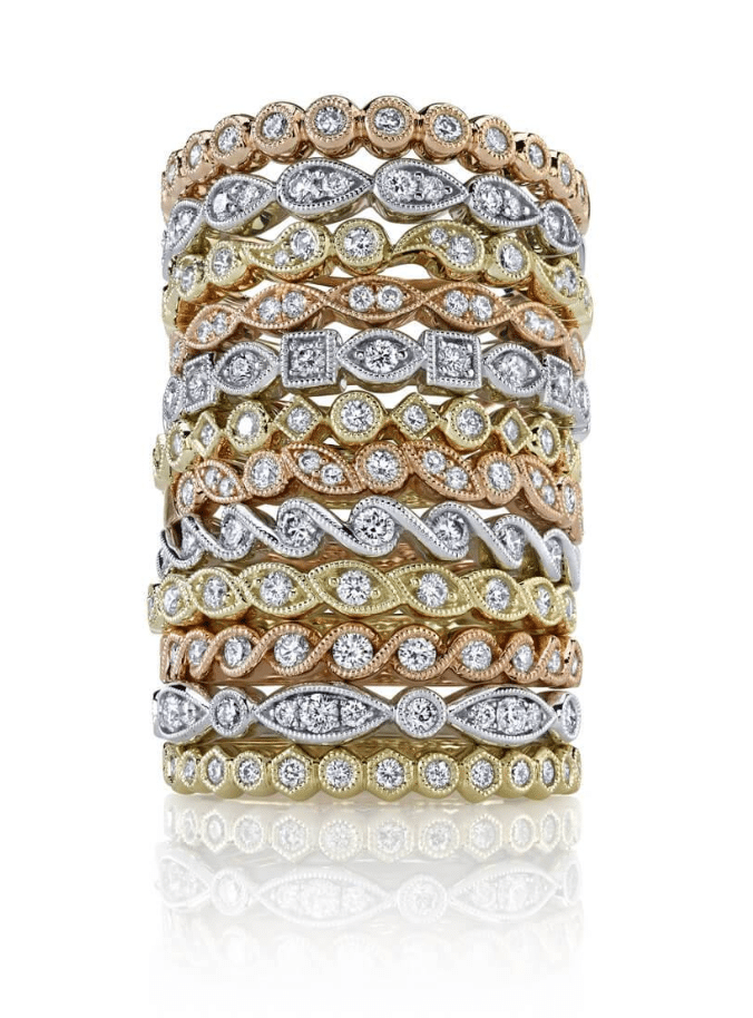 Stackable Rings Sylvie Collection Brittany's Fine Jewelry Gainesville FL