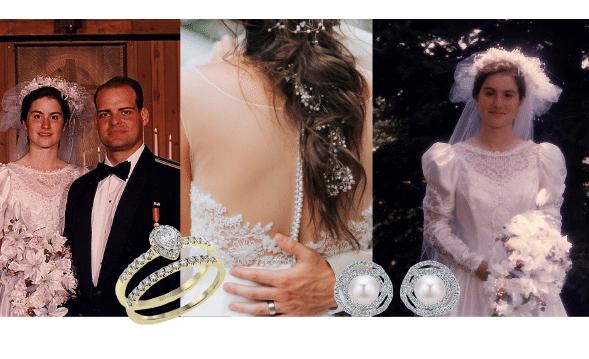 La mode et la joaillerie nuptiales des années 70 à 90, la haute joaillerie britannique
