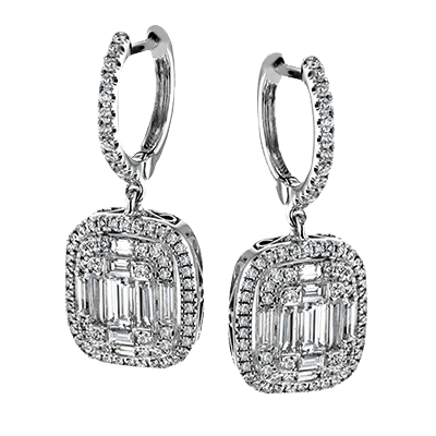 Simon G. Mosaic Earrings Wedding Details Brittany's Fine Jewelry