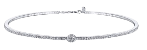 Gabriel and Co. White Diamond Choker Brittany's Fine Jewelry