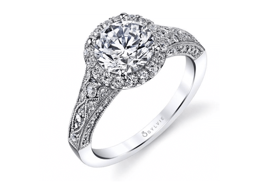 Cheri Vintage Inspired Engagement Ring Brittany's Fine Jewelry