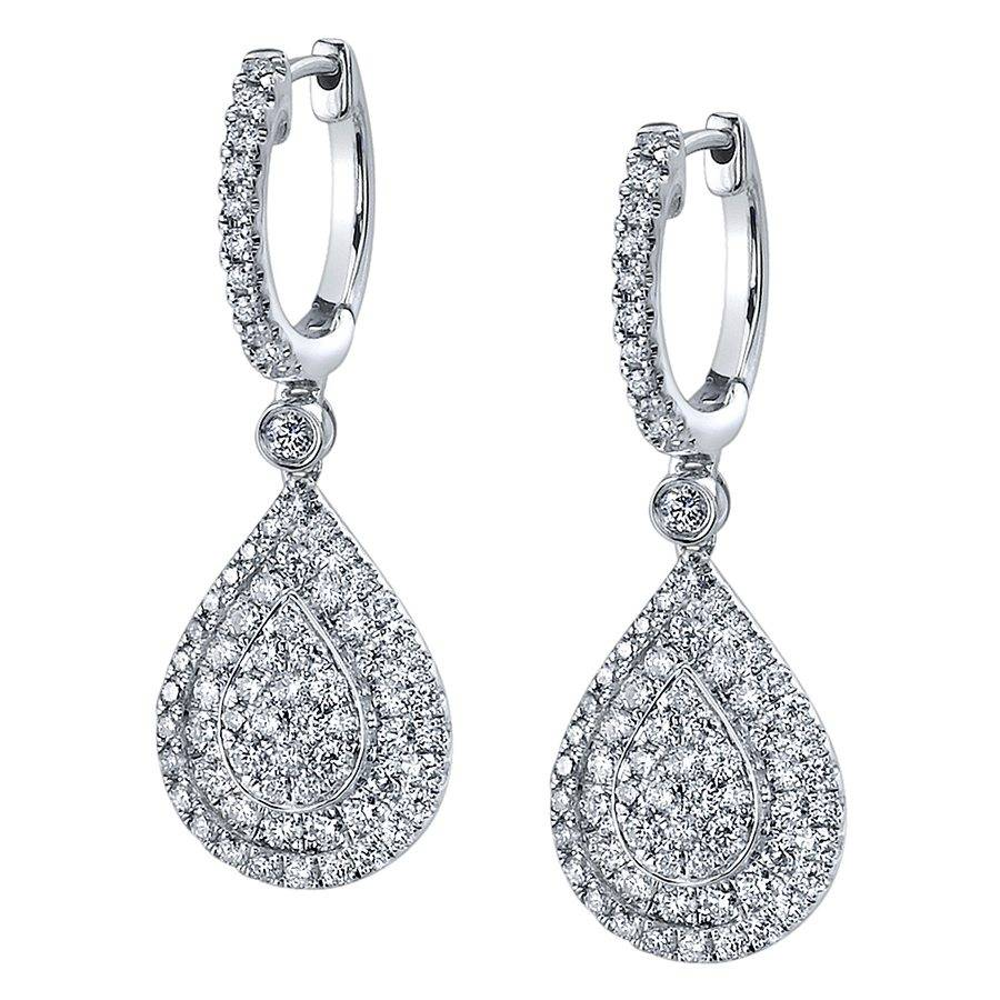 Sylvie Classic Pear Shaped Earrings Brittany's Fine Jewelry