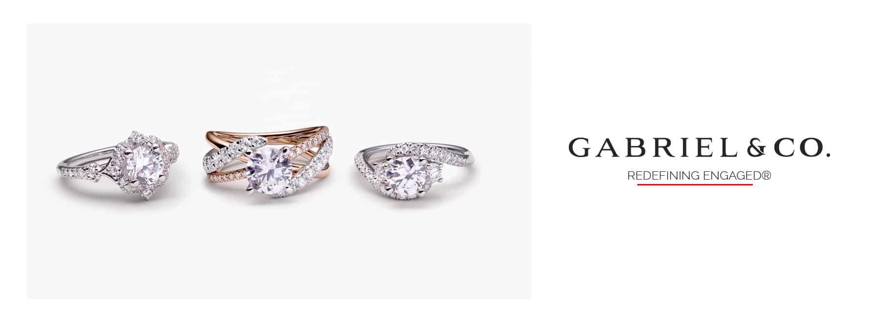 engagement rings from gabriel and co.