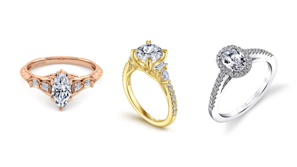 Engagement Ring Metals